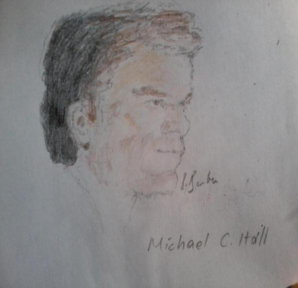Michael C. Hall par Betul